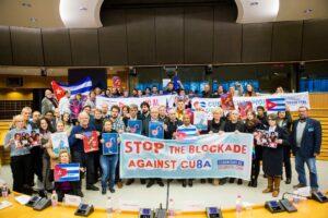 Europäische Aktionstage gegen die US-Blockade